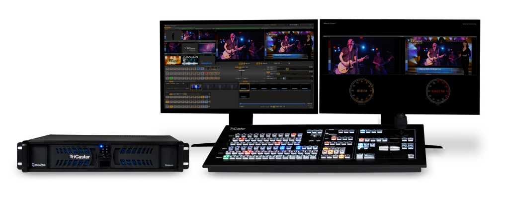 Live Video Streaming Services - TriCaster 455 set