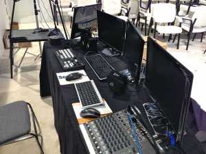 Tricaster-Setup---Samsung-Trade-Show-Video