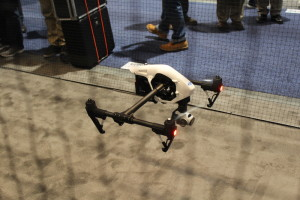 DJI Inspire at CES 2015