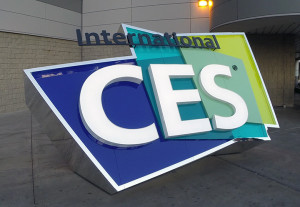 International CES 2015 Sign