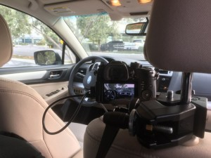 live streaming from a moving vehicle