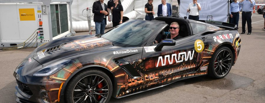 Sam Schmidt, Paralyzed Former IndyCar Racer Receives a Nevada Drivers License and Displays his Driving Skills